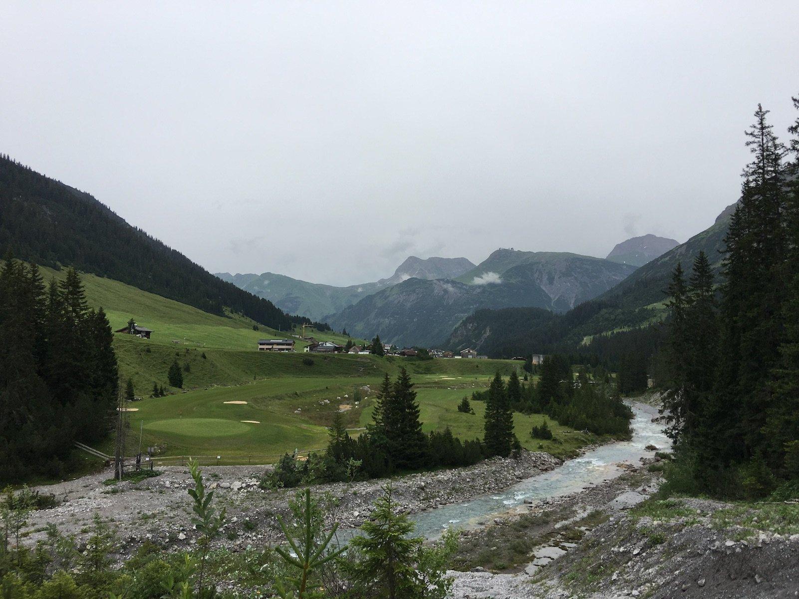 Golfplatz bei Zug