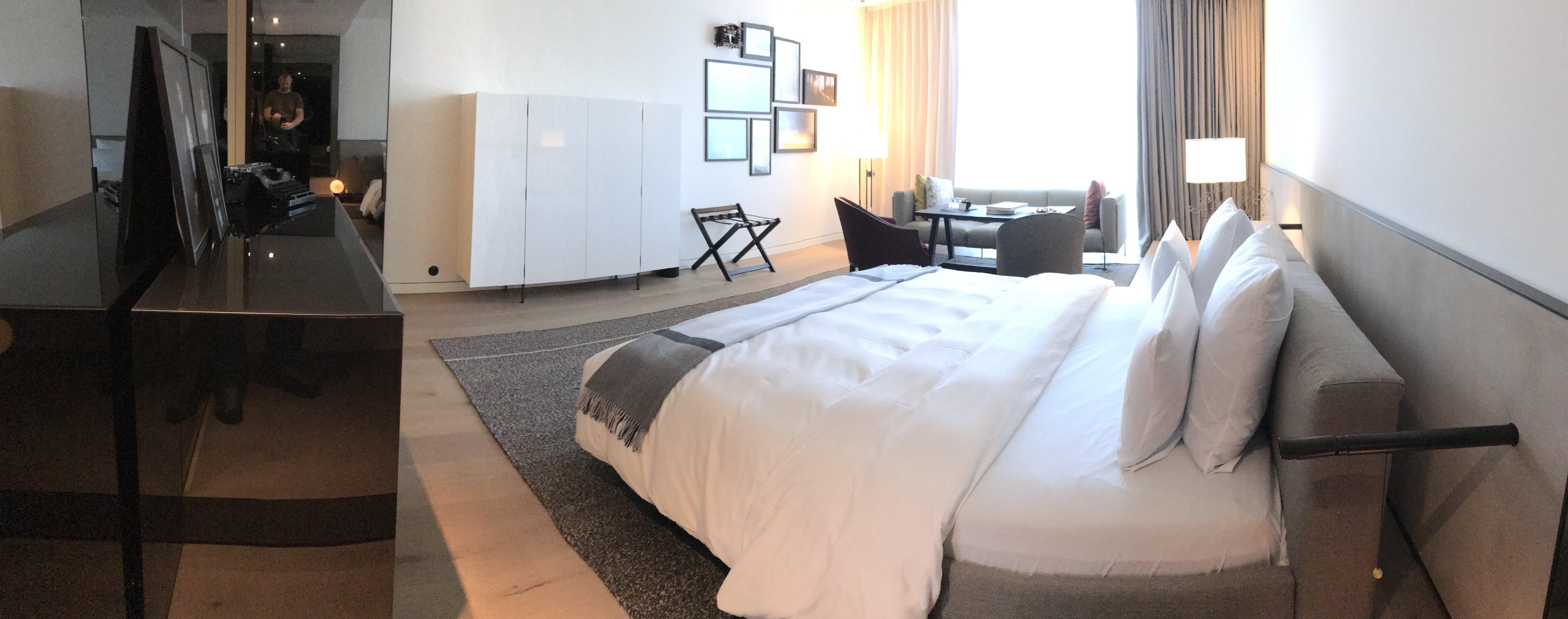 Panorama in der Suite - so wirklich gut macht das iPhone das aber auch nicht...