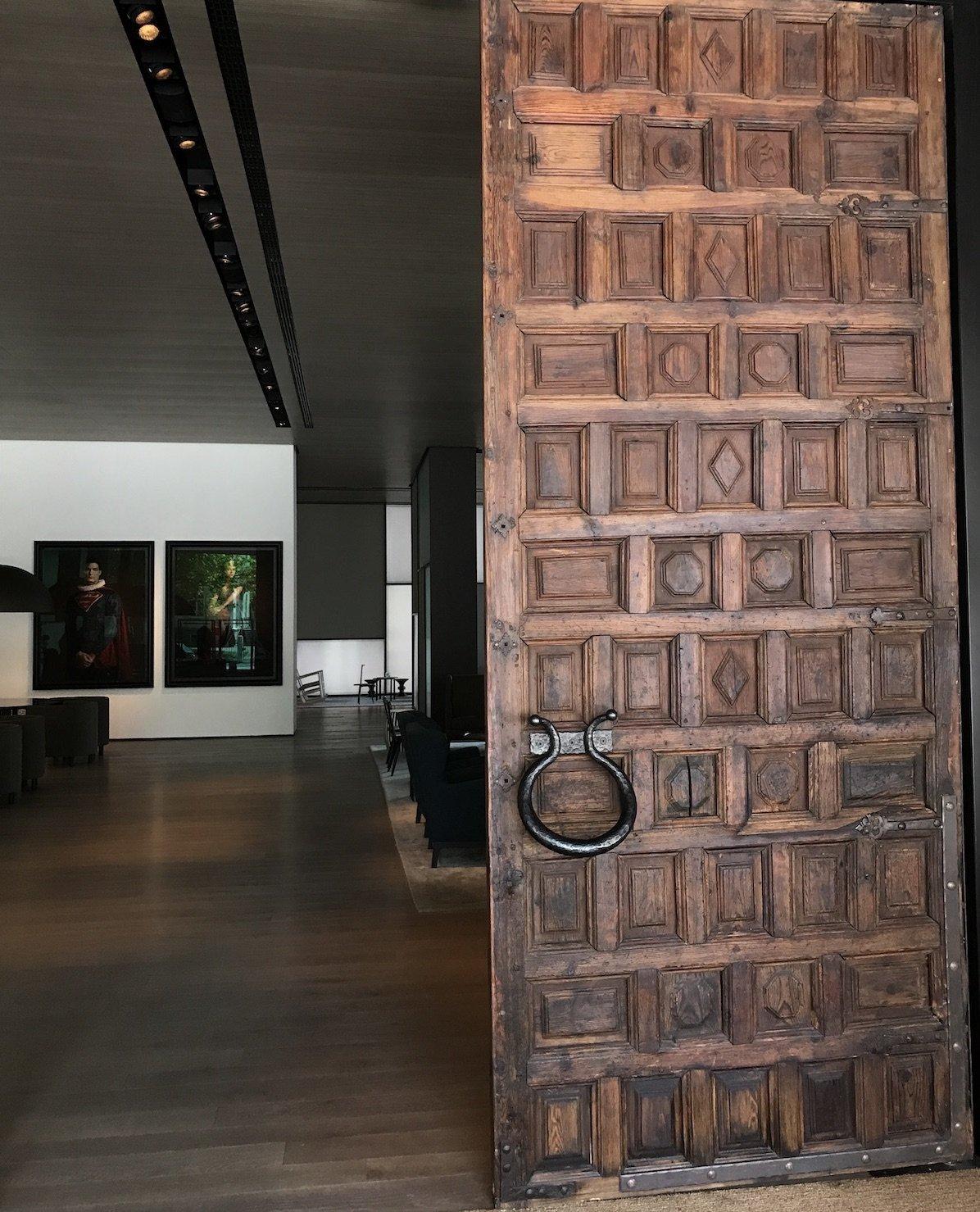 Eingangstüre in das Roomers aus dem 17. Jahrhundert