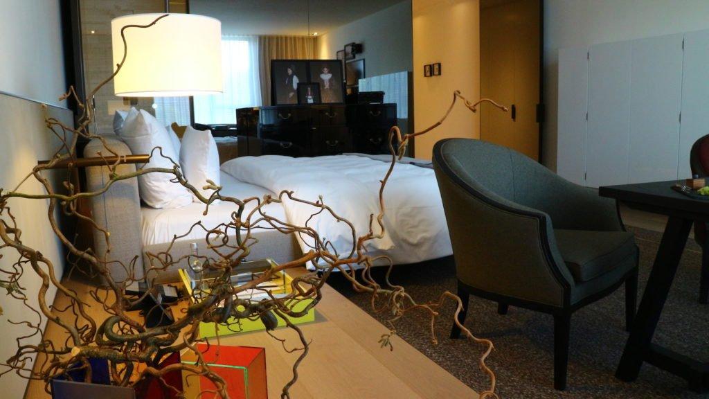 Ein Blick von der Ecke der Junior-Suite durch die Junior-Suite
