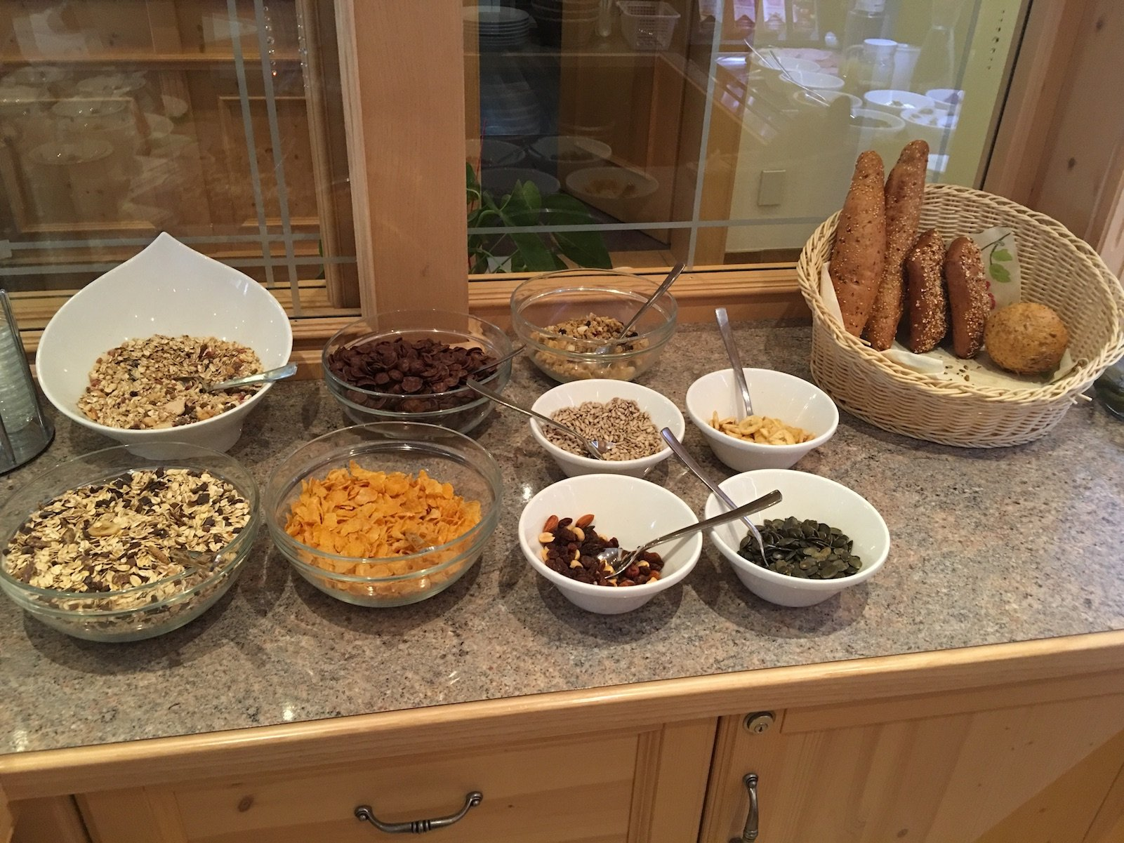 Frühstück 2 im Ferienschlössl Harmonie in Holzgau