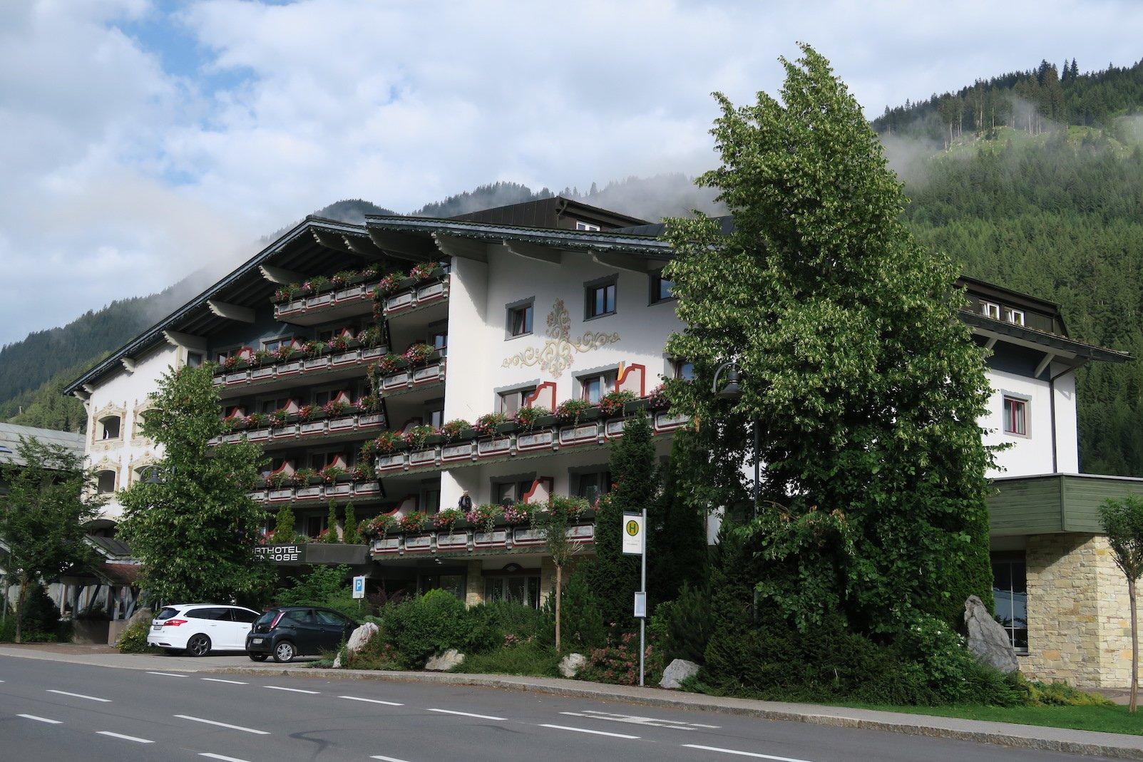 Hotel Alpenrose in Elbigenalp