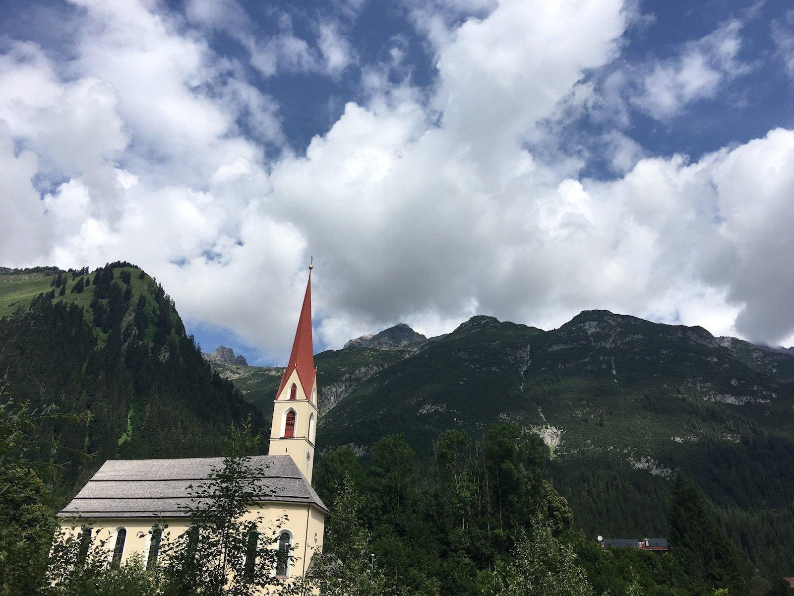 Kirche in Häselgehr