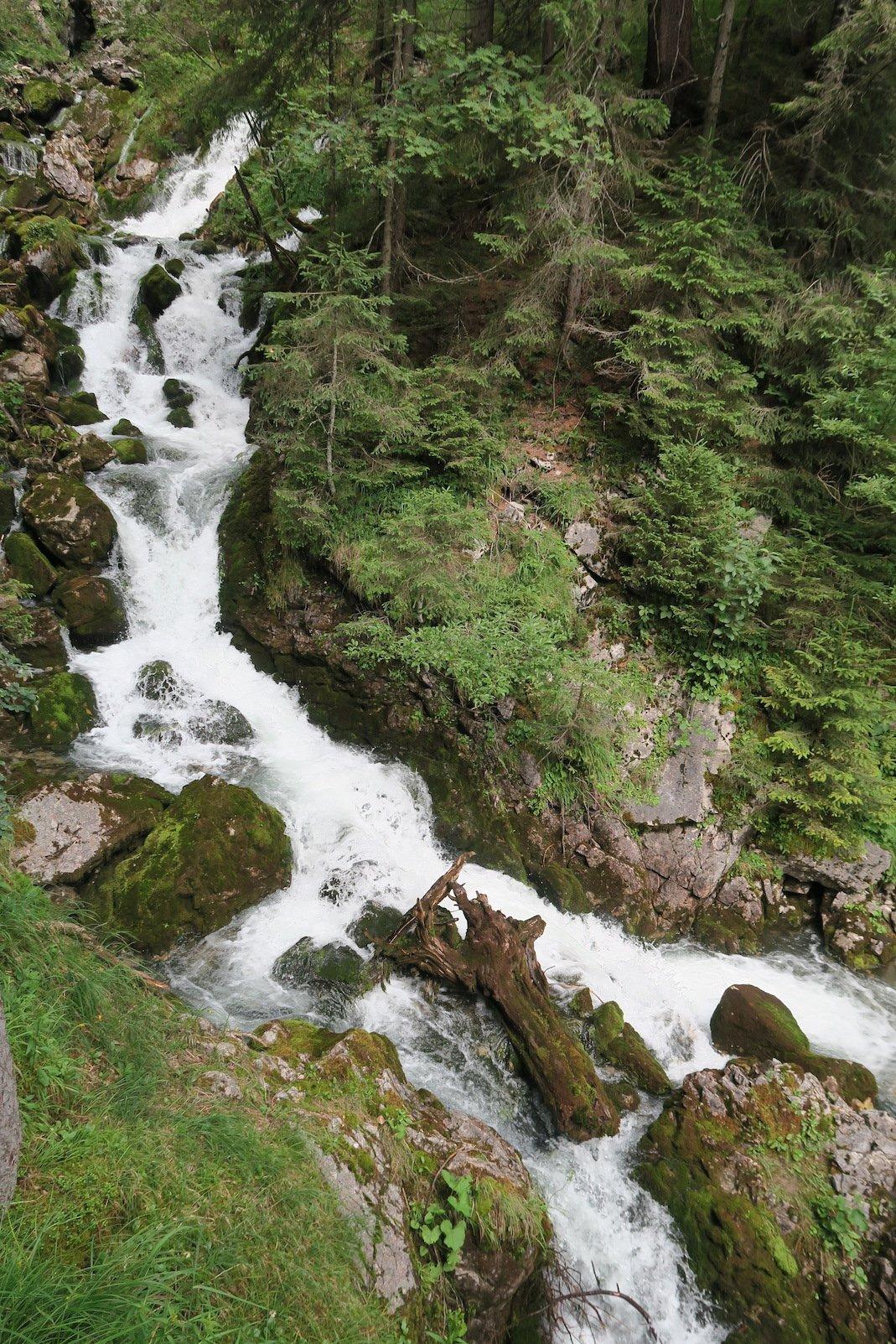 Doser Wasserfall weiter oben