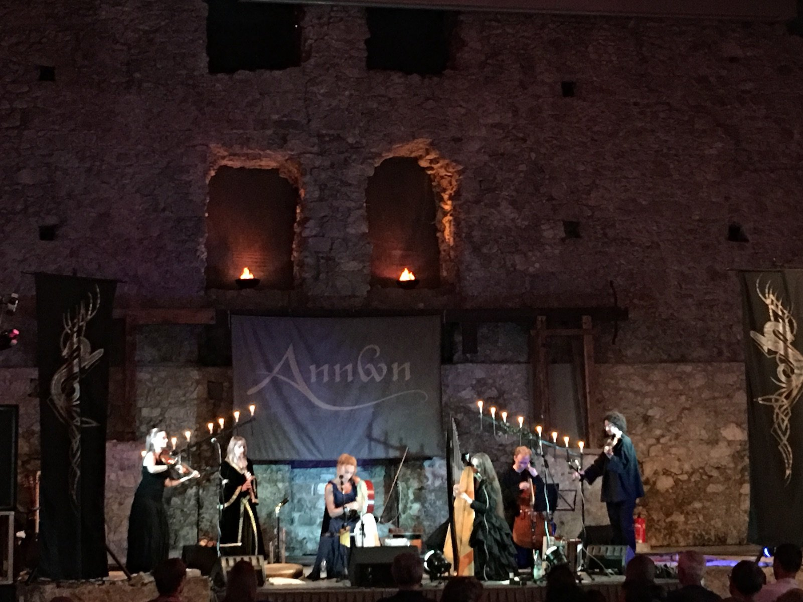 Annwn in concert in der Ruine Ehrenberg