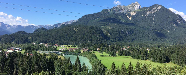 Lechweg Karte.Lechweg In 8 Etappen Vom Formarinsee Bis Füssen Wandern Ein