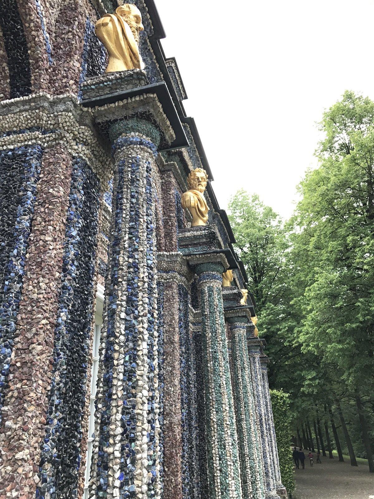 Säulen an der Orangerie Bayreuth