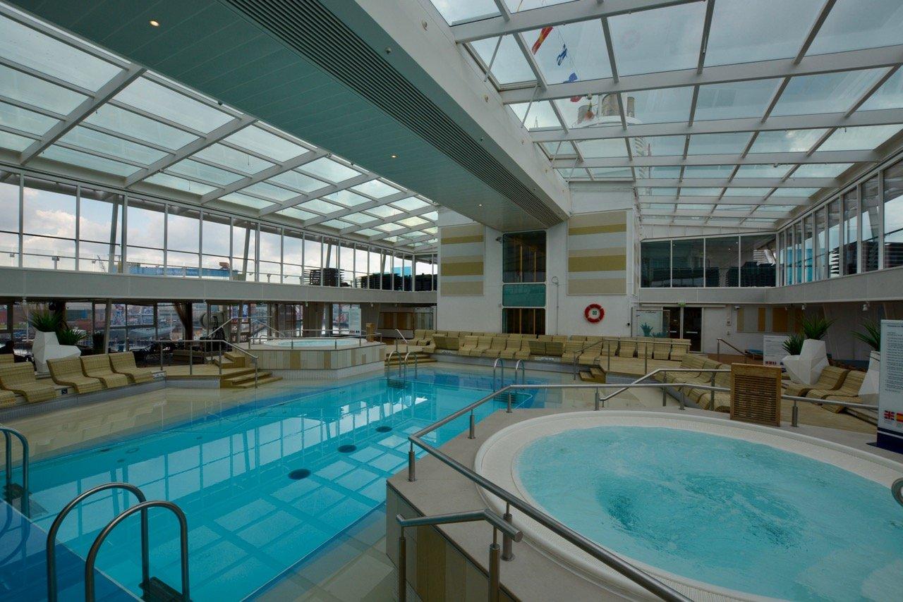 Mein Schiff 3 Indoor-Pool