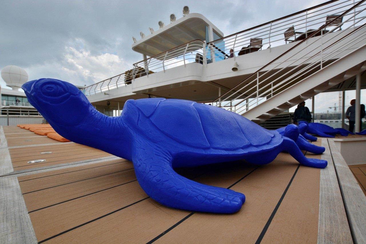 Mein Schiff 3 Schildkröte