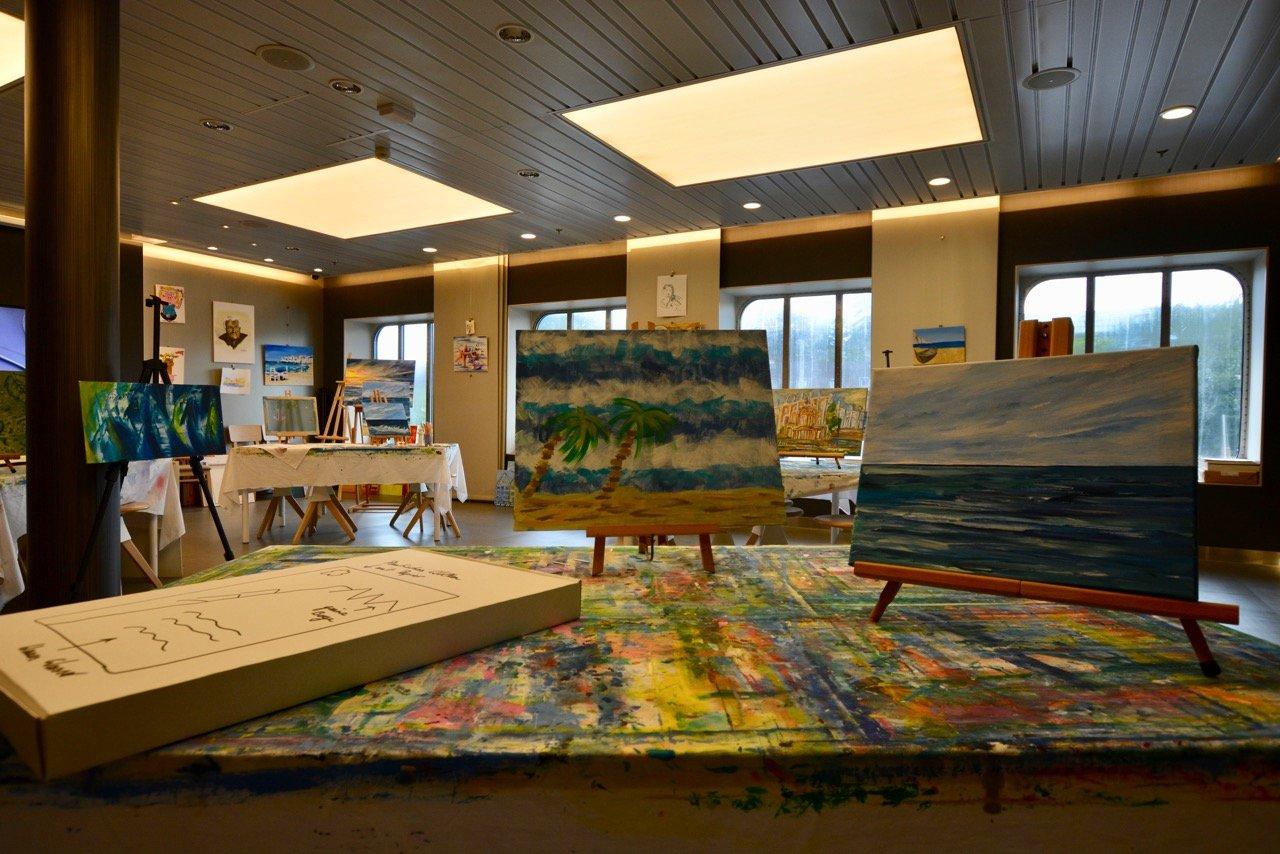 Mein Schiff 3 Atelier