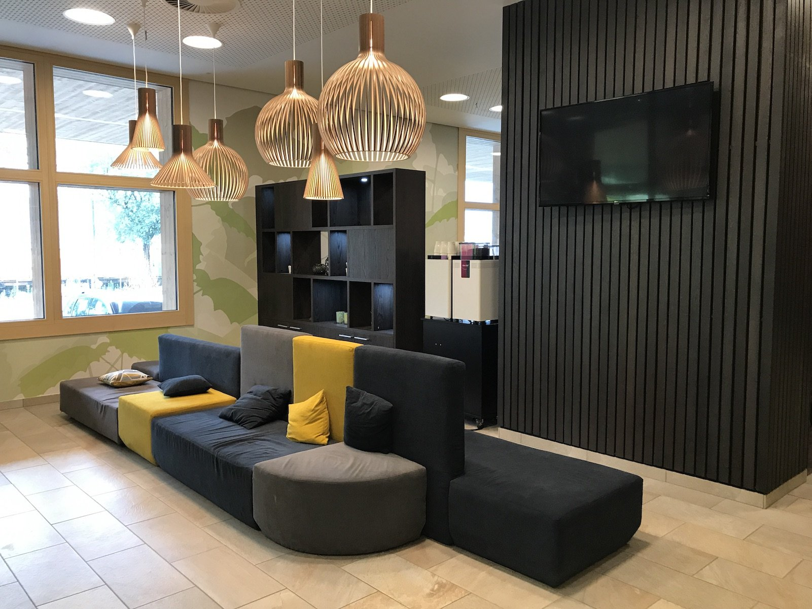 Lobby des 4Rest Hotels Hall