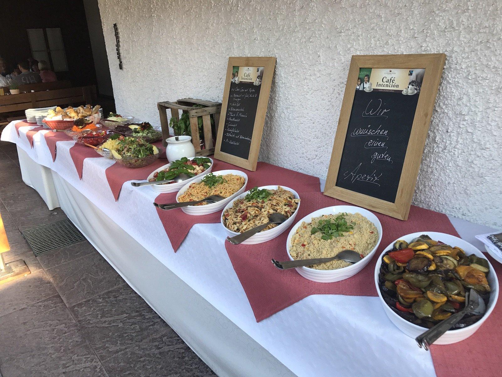 Vorspeisen/Salatbuffet