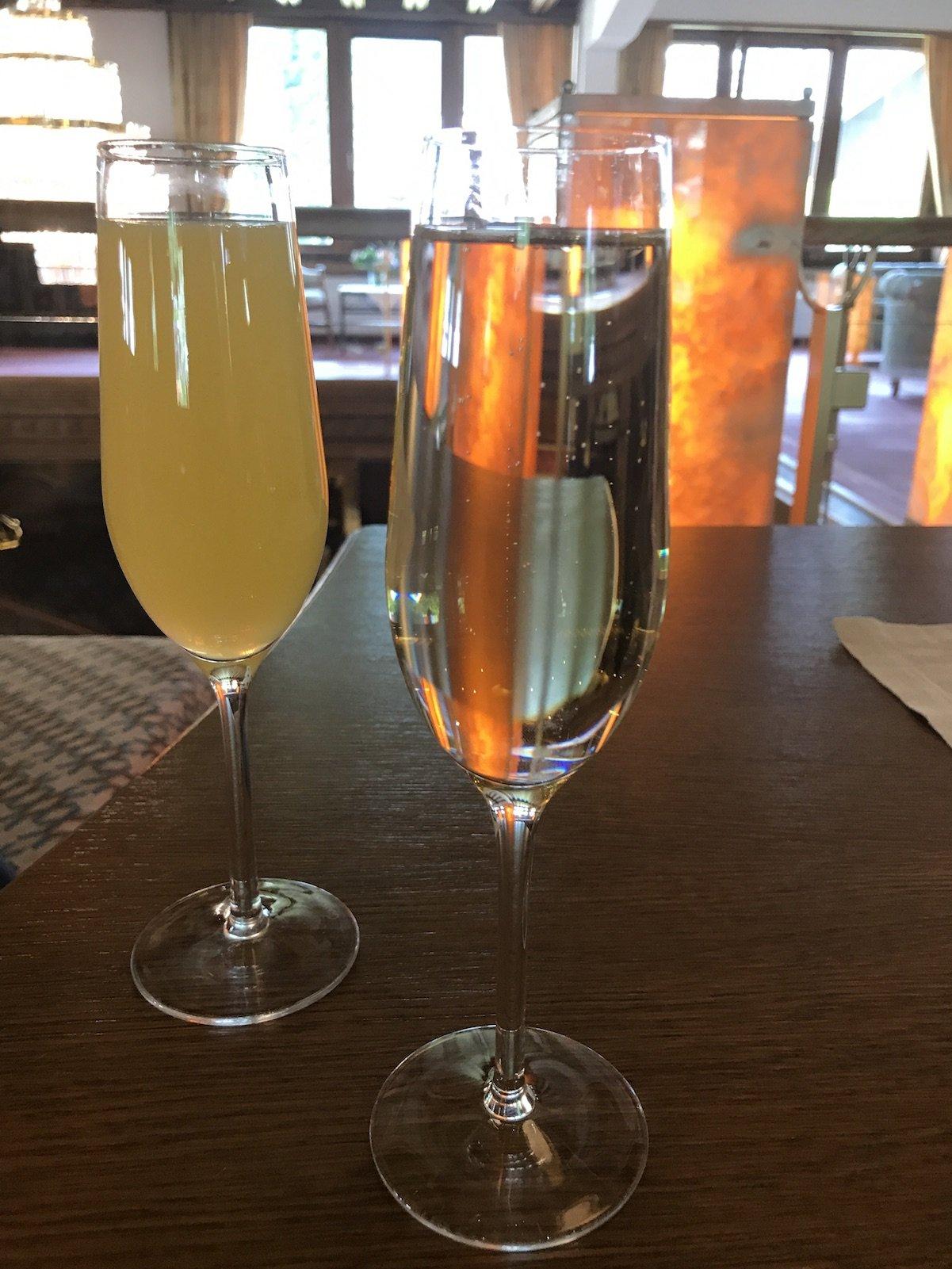 Drink zur Begrüßung im Hotel Pulverer in Bad Kleinkirchheim