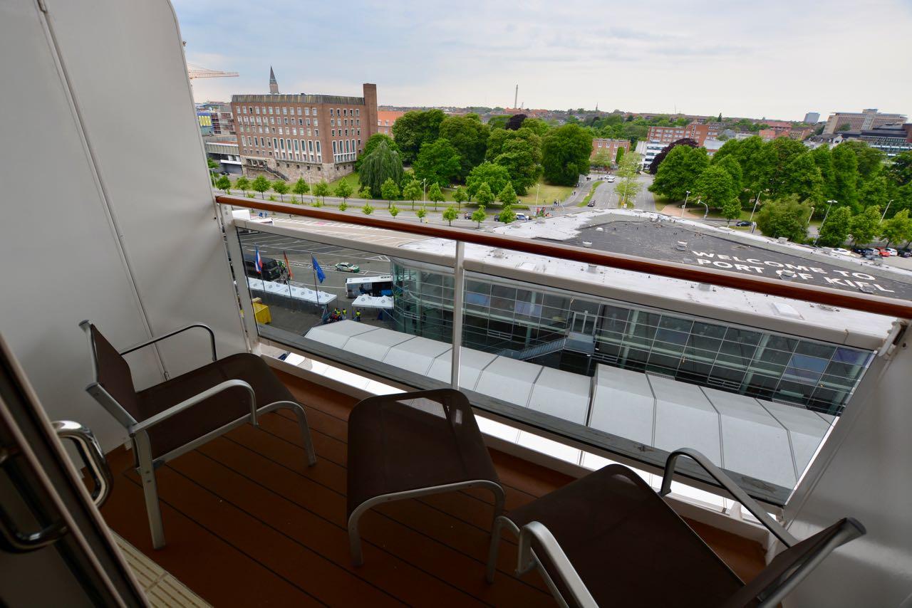 MSC Fantasia Balkon