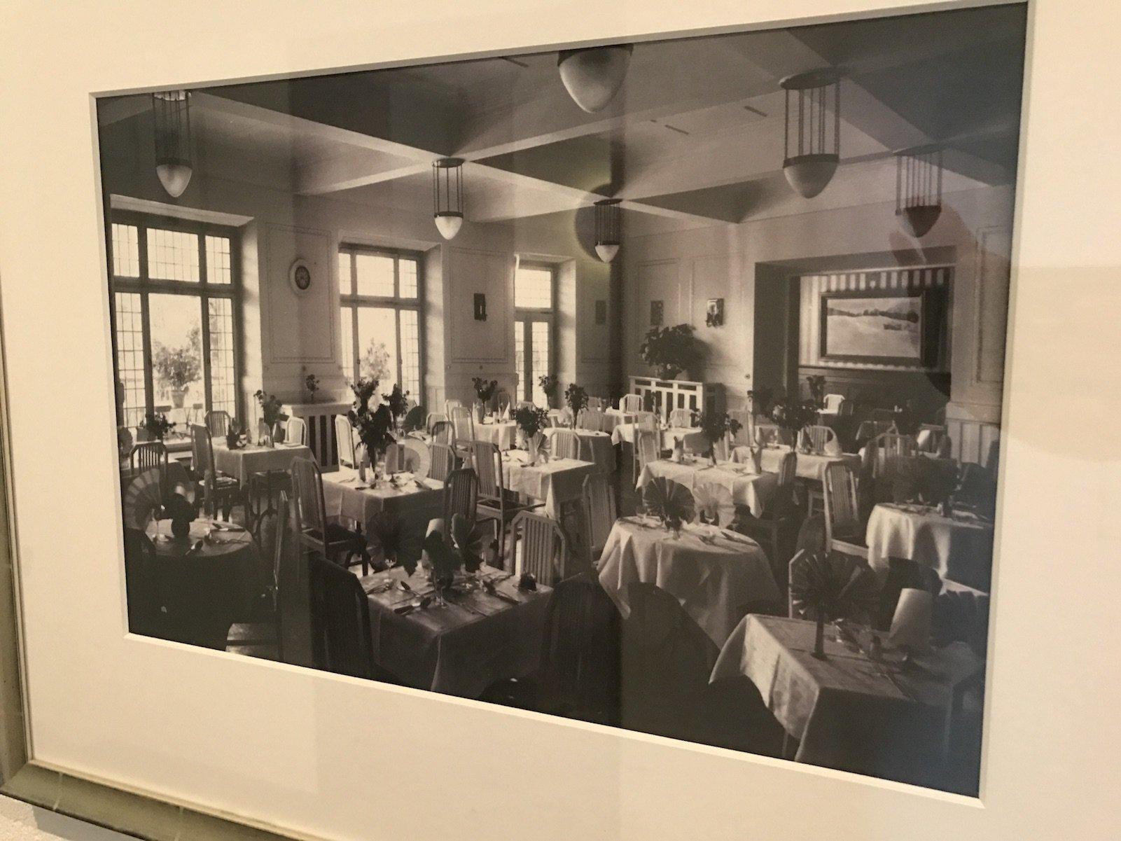 Bild vom alten Speisesaal