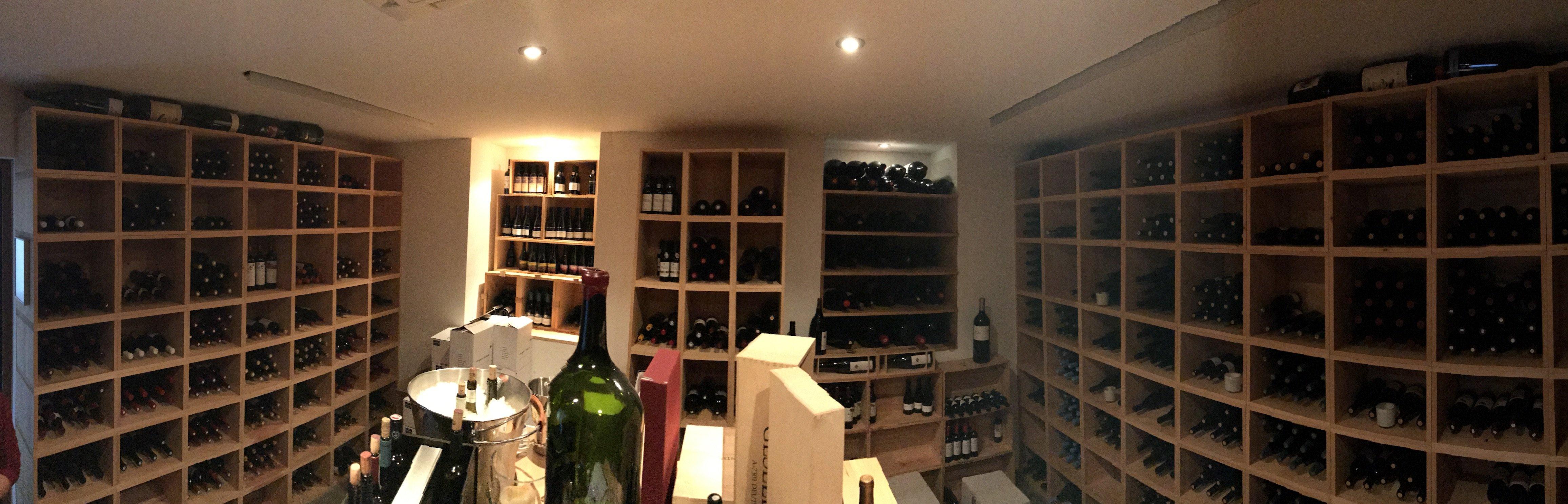 Panorama vom Weinkeller