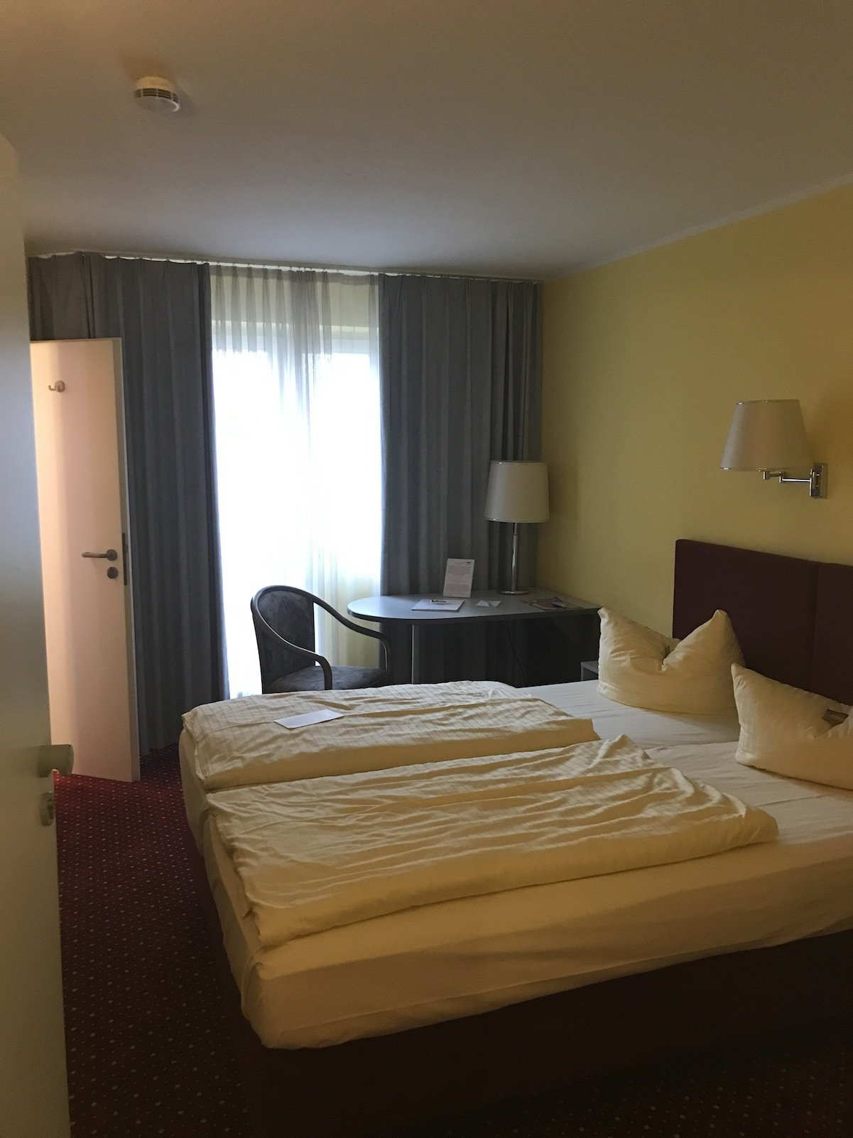 Der erste Blick in mein Zimmer im INVITE Hotel Nürnberg