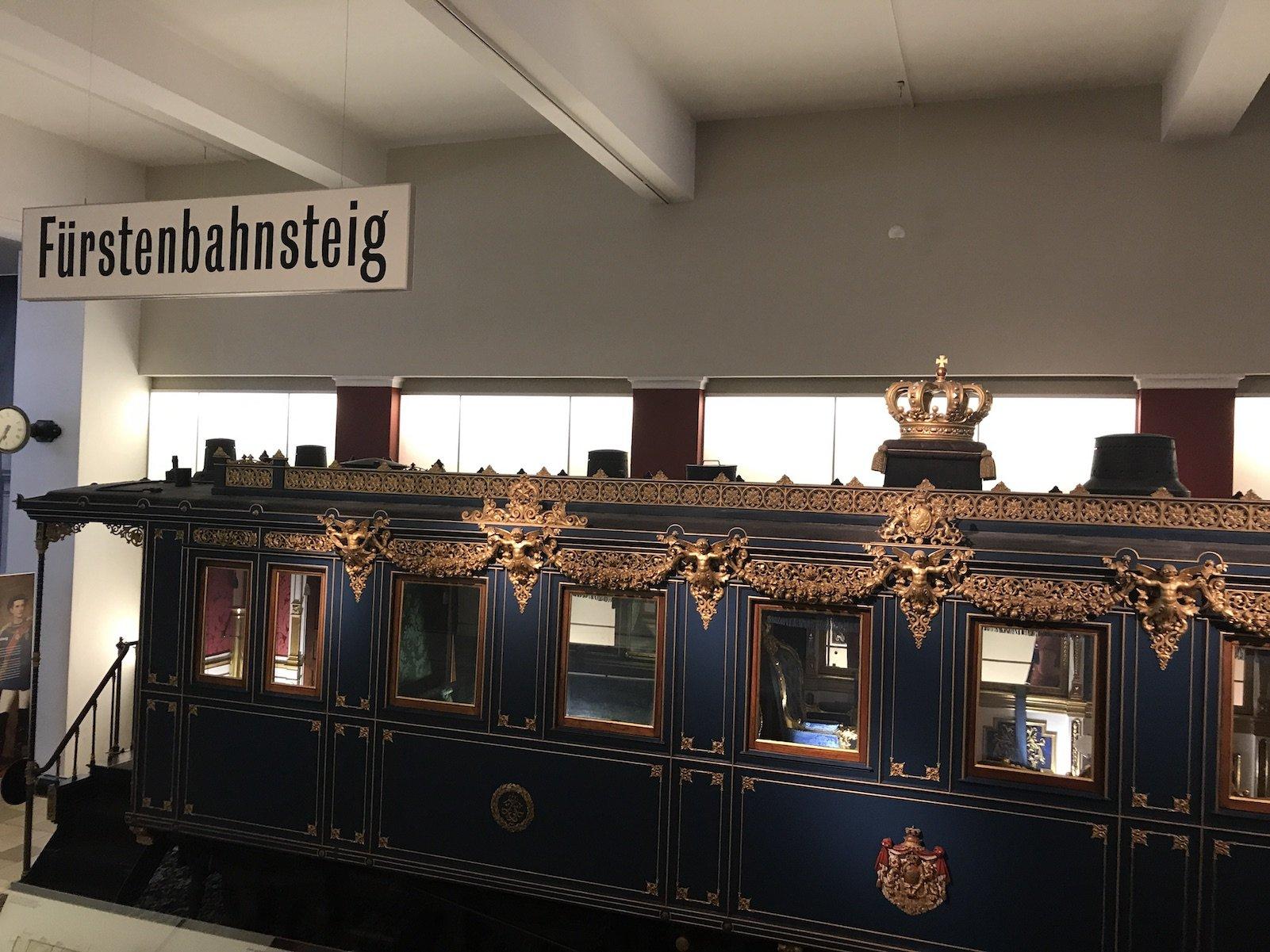 Salonwagen des bayrischen Königs Ludwig II.