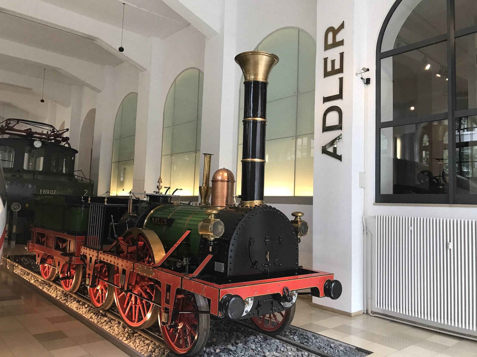 Nachbau der Lokomotive Adler