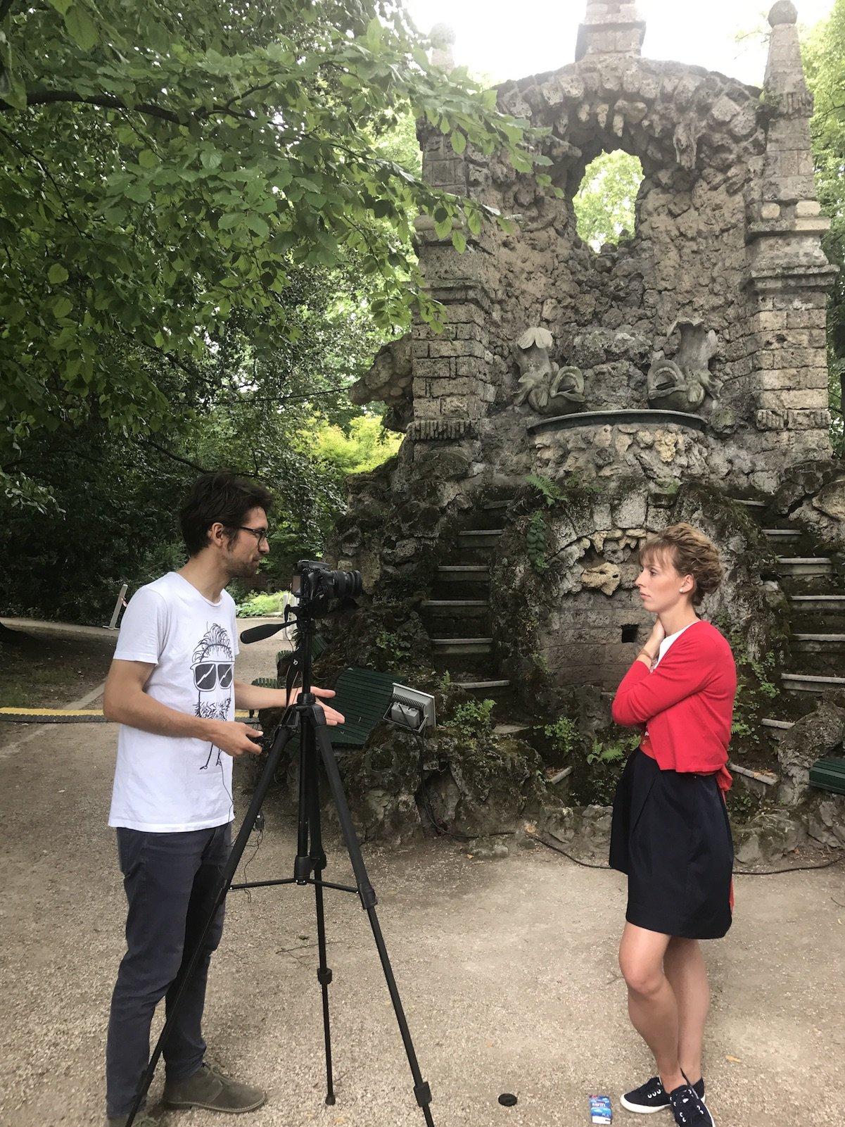 Jan Jordan vom Reiseblog Deutschlandjäger im Interview mit der Backfischbraut Franzi