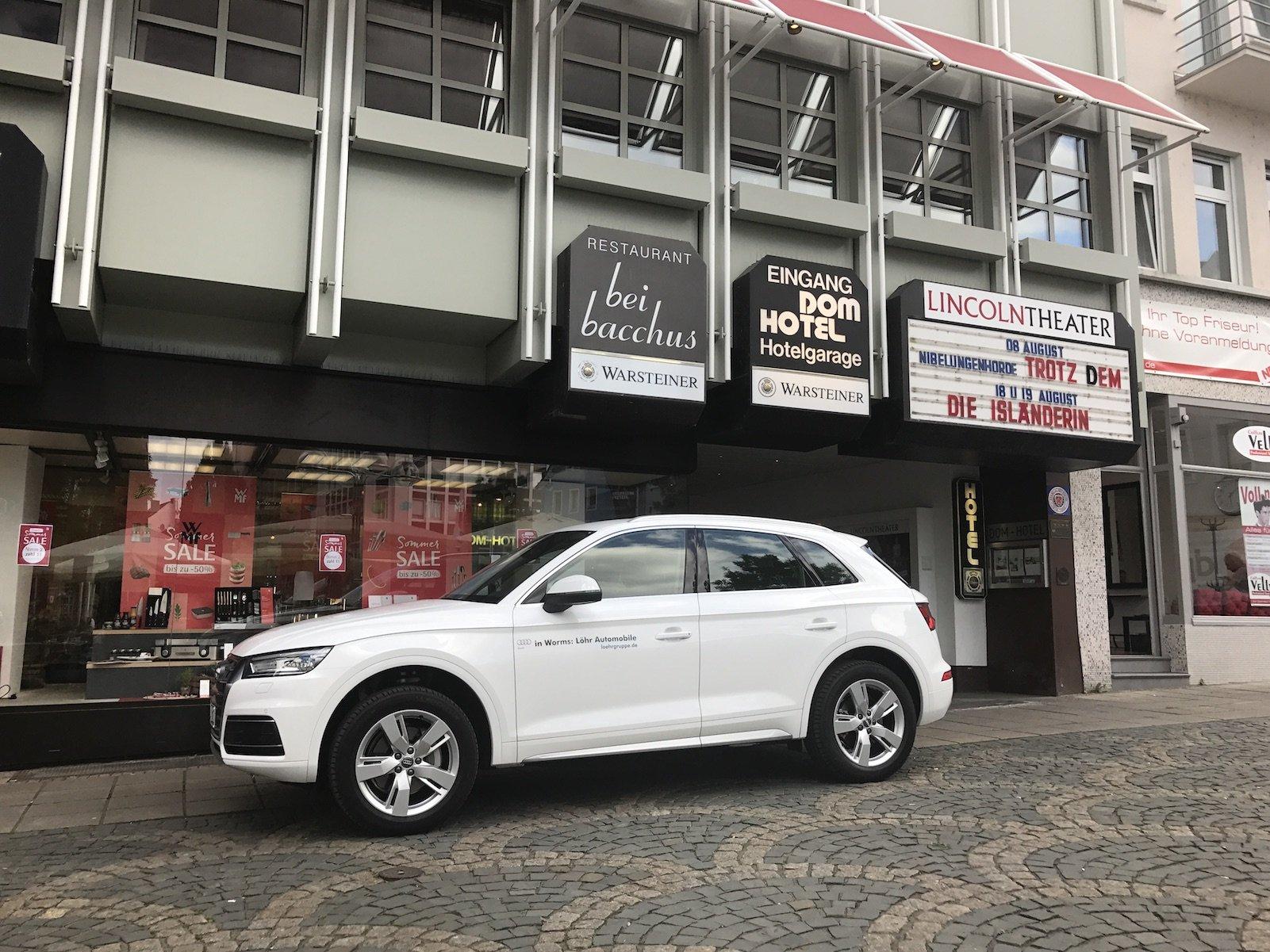Shuttle zum roten Teppich der Premiere der Nibelungenfestspiele 2017 in Worms