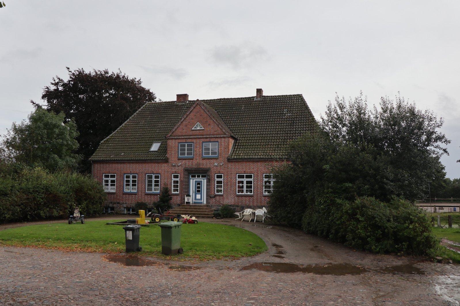 Haupthaus vom Ferienhof Löstrup