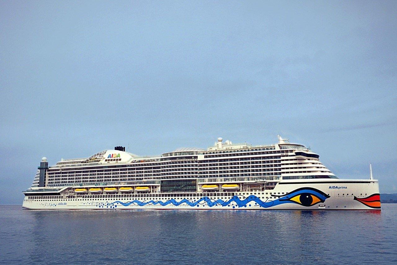 AIDAprima. Foto: AIDA Cruises