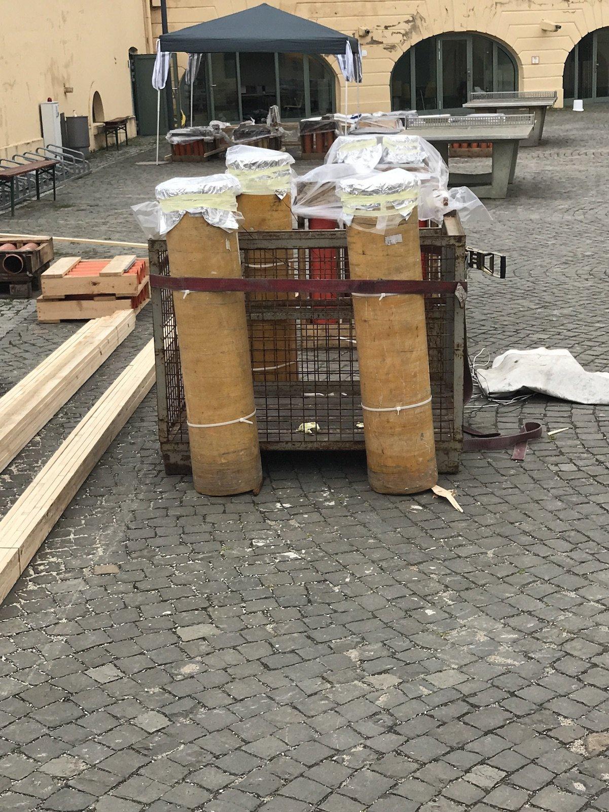 250 mm Rohre Feuerwerk in Koblenz zu Rhein in Flammen