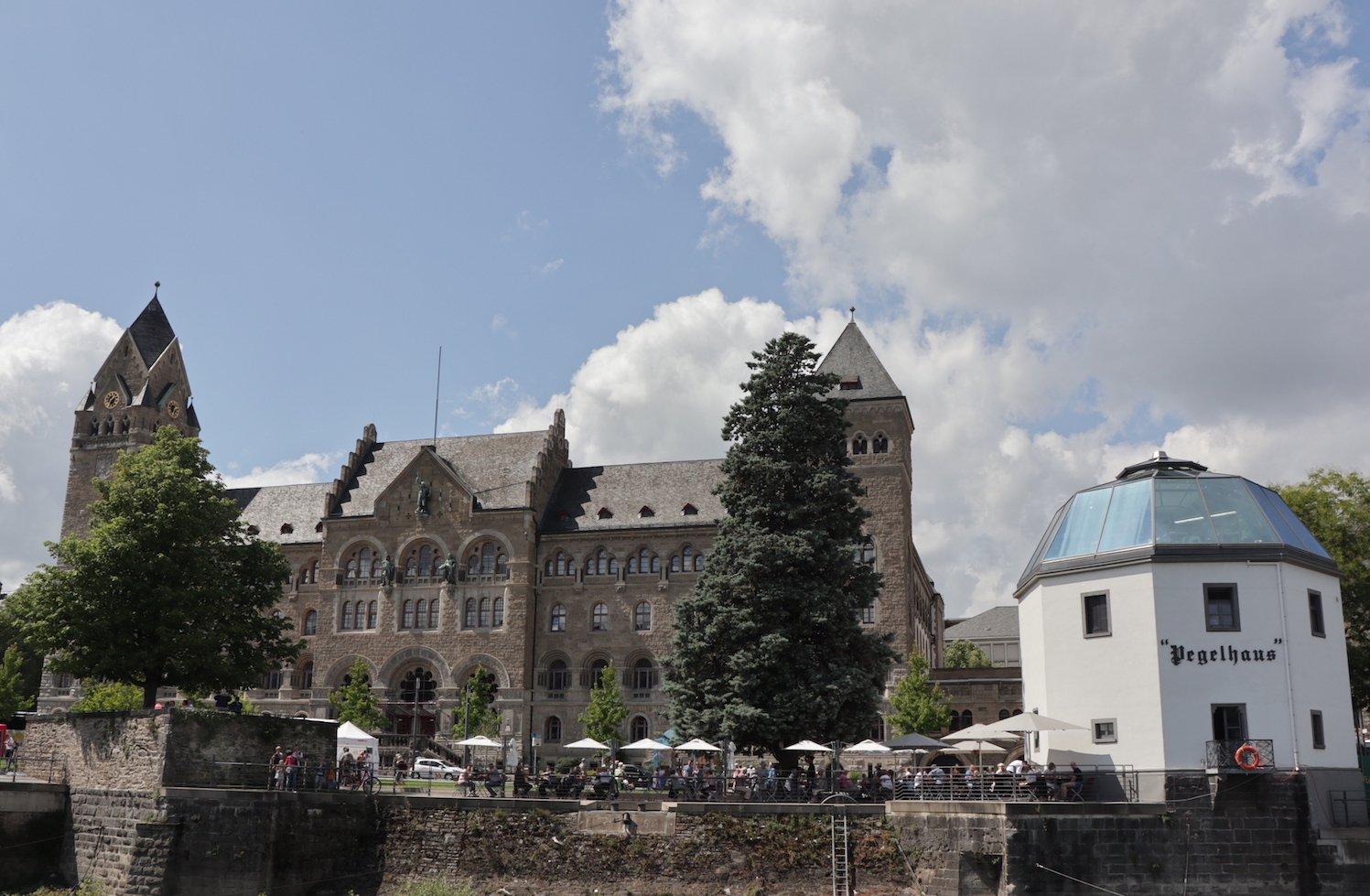 Nochmal das Preußische Regierungsgebäude in Koblenz