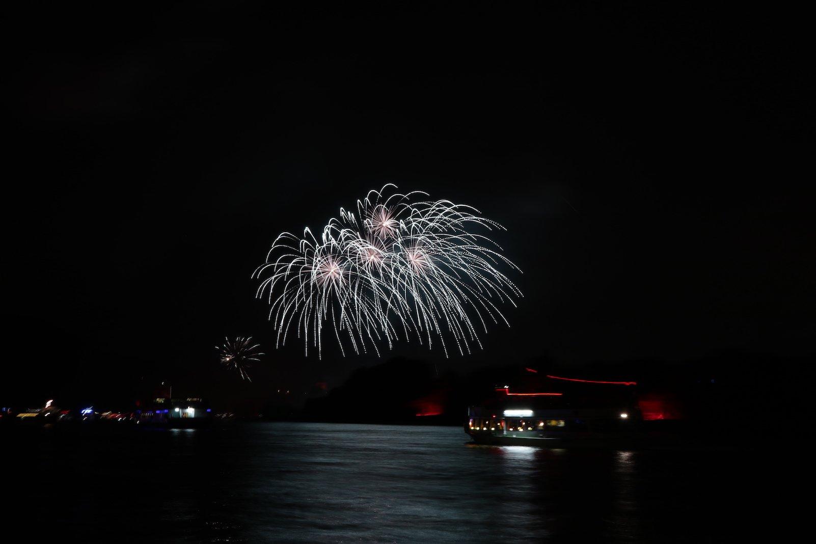 Feuerwerk Rhein in Flammen Koblenz