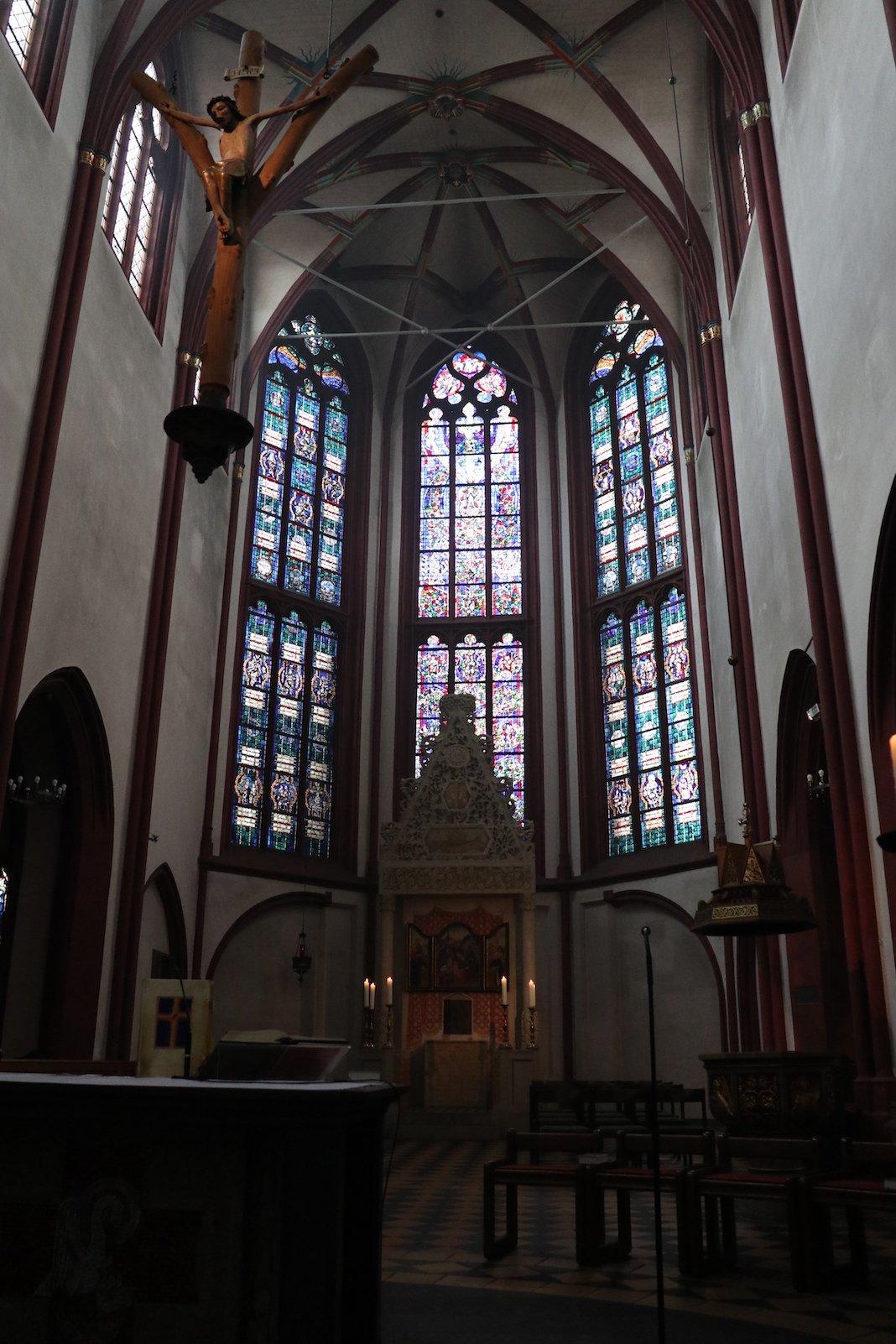 Liebfrauenkirche in Koblenz von innen