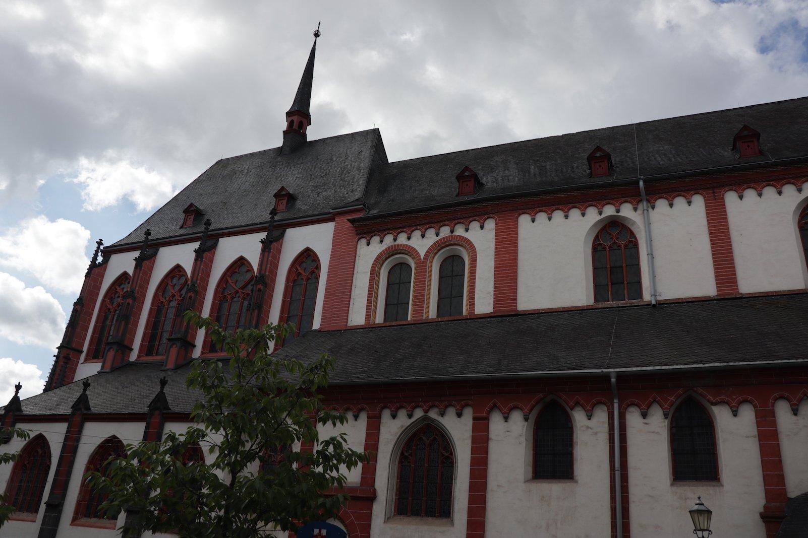 Liebfrauenkirche in Koblenz von außen