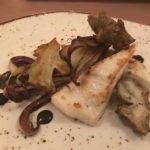 Steinbutt mit Topinambur, Radicchio tardivo im Gourmethotel Tanzer