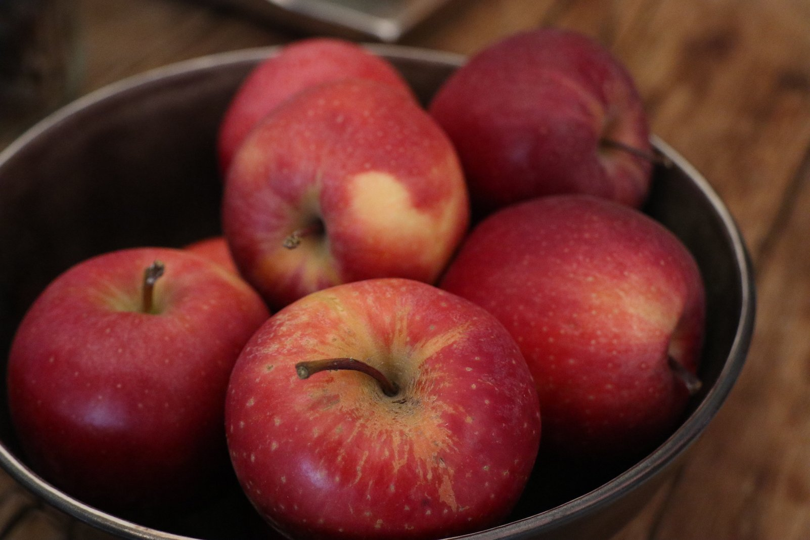 Äpfel im SPA-Bereich des Hotels Tanzer