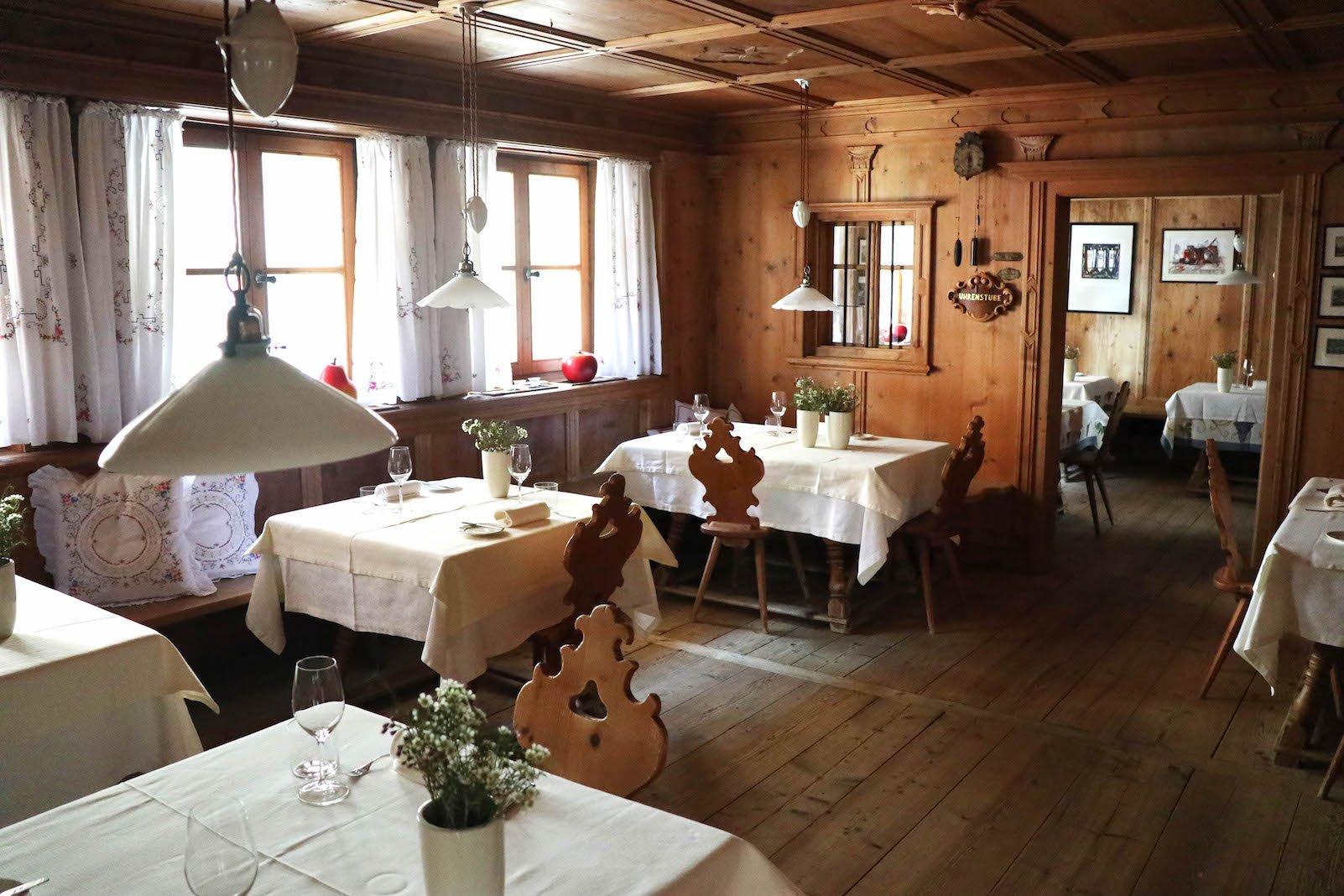 Merlotstube im Hotel Tanzer - für Feinschmecker!