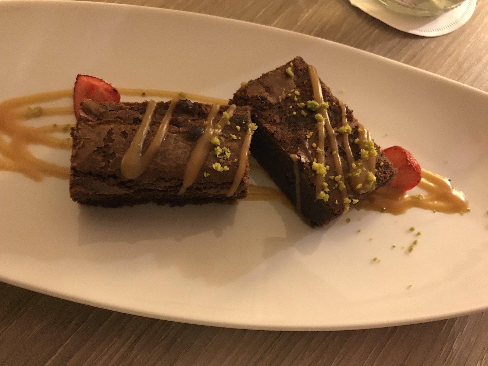 Begrüßungs Köstlichkeit im Bremer Steigenberger Hotel