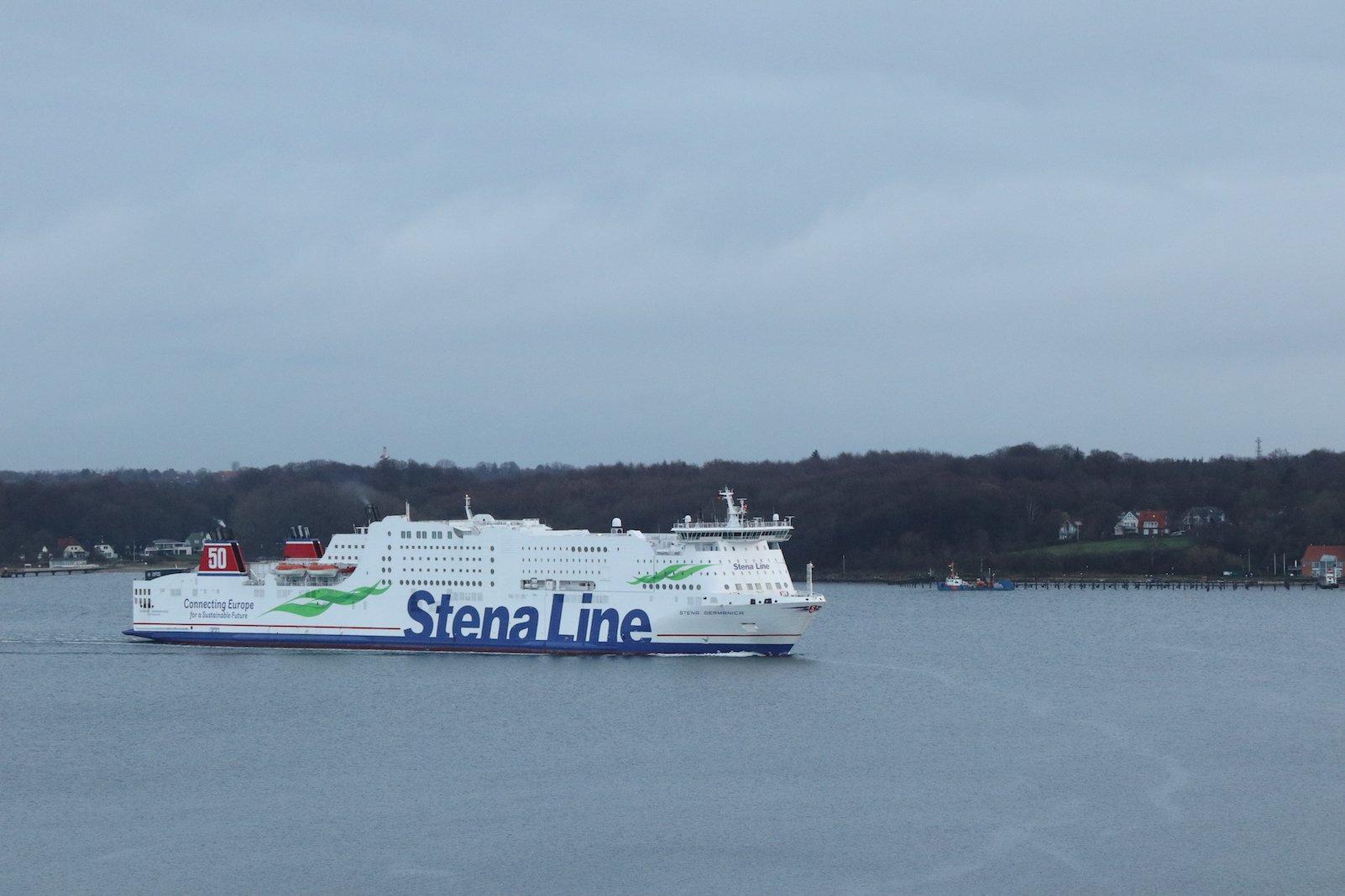 Die Stena Line kommt direkt aus Göteburg. Jeden Tag aufs Neue