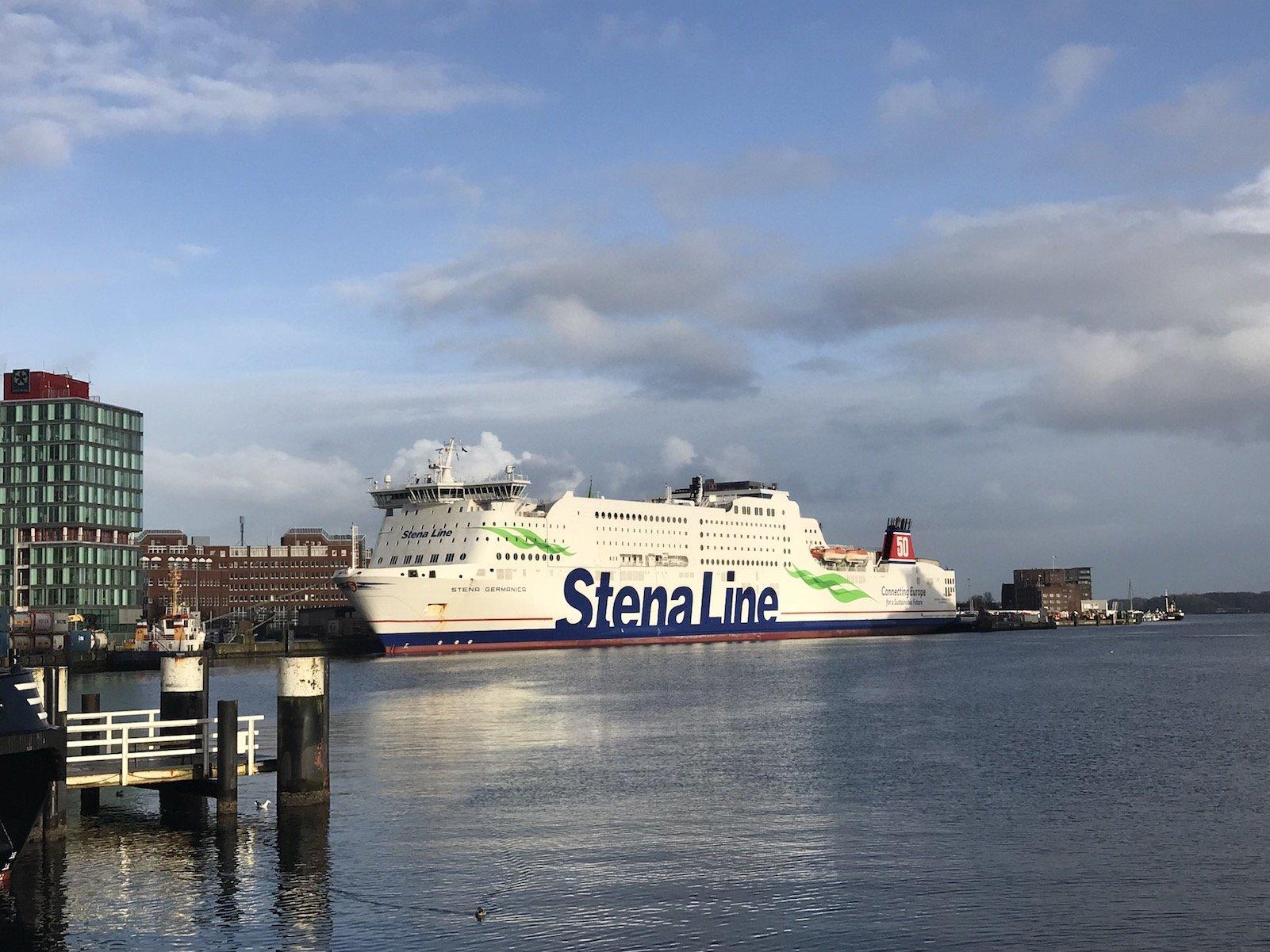 Stena Line, die Kiel mit Göteburg verbindet