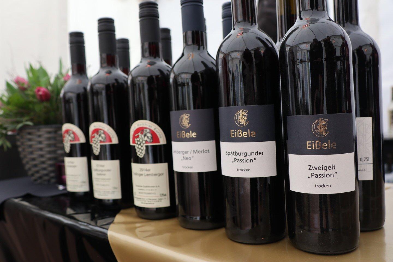 Der Zweigelt von Eißele wird noch mein Lieblingswein an diesem Tag auf dem WinterWeinweg werden