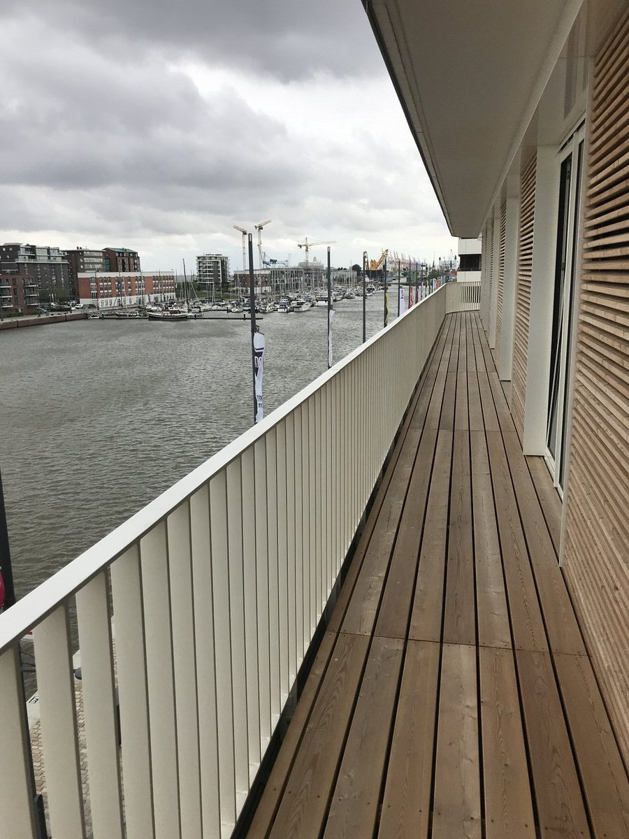 Balkon ohne Grenzen