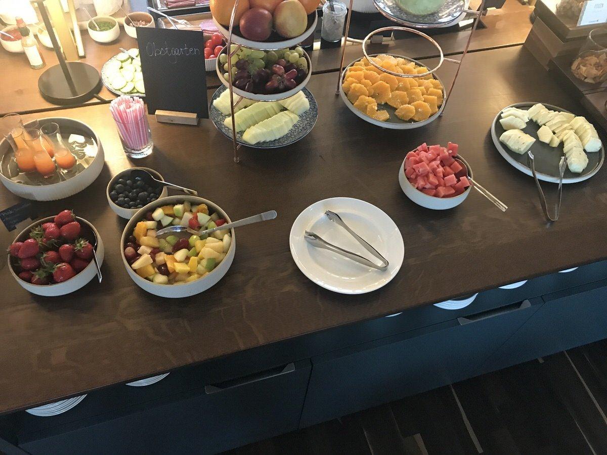 Obst zum Frühstück