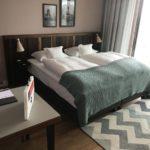 Mein Bett im The Liberty Hotel Bremerhaven