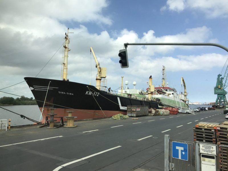 110 m langees Fischfangschiff Dirk-Dirk