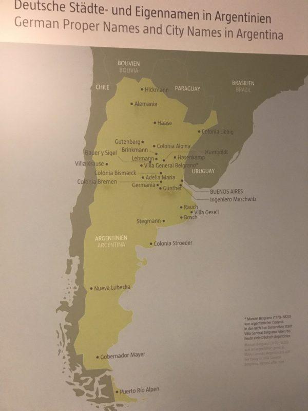 Deutsche Städte- und Eigennamen in Argentinien