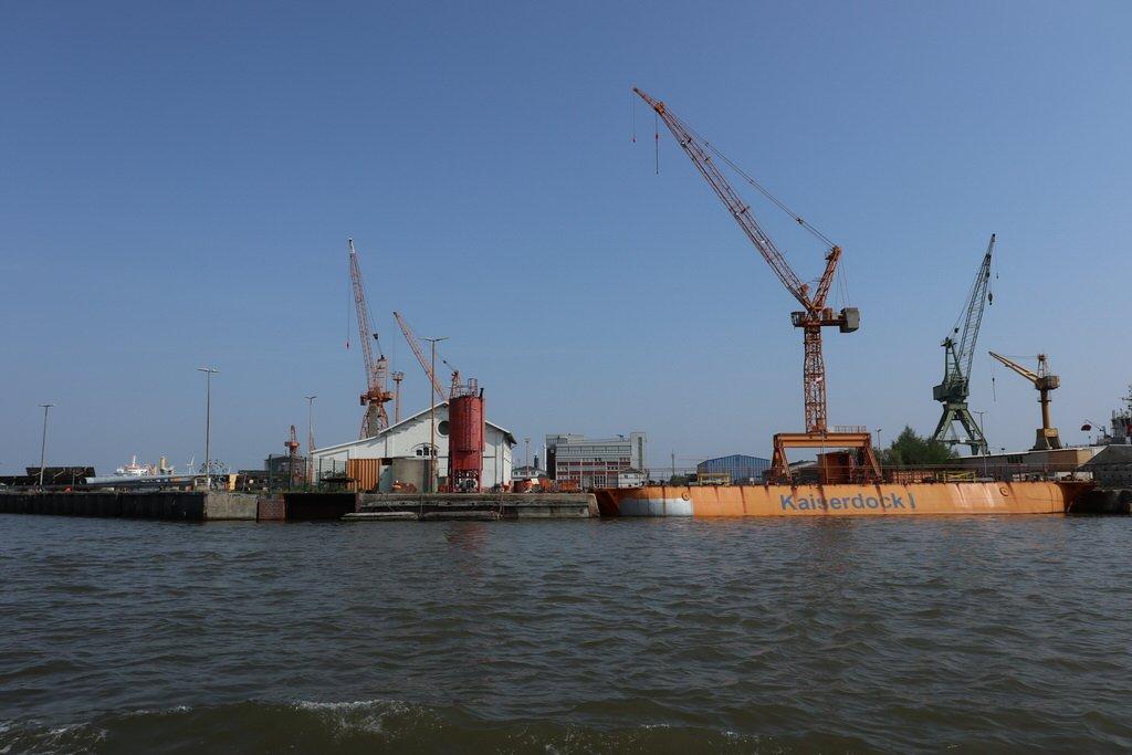 Kaiserdock I in Bremerhaven