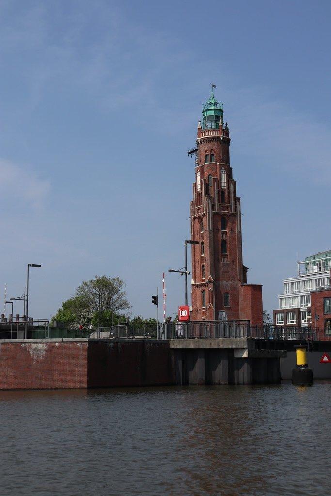 Simon-Loschen-Leuchtturm in Bremerhaven