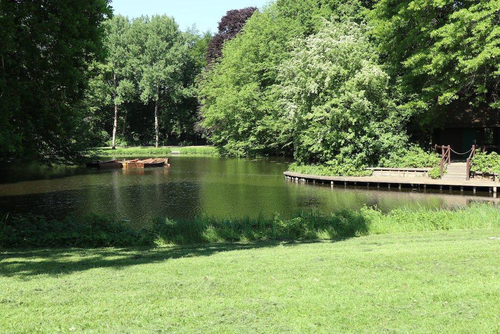 Ein kleiner See im Bürgerpark Bremen