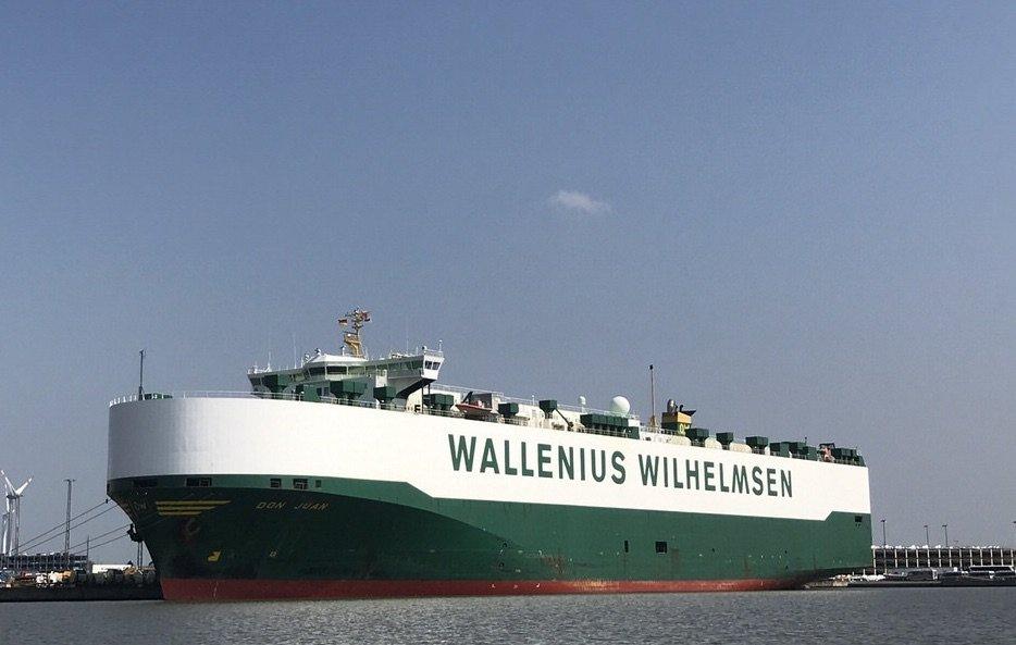 Die Don Juan der Reederei WWL