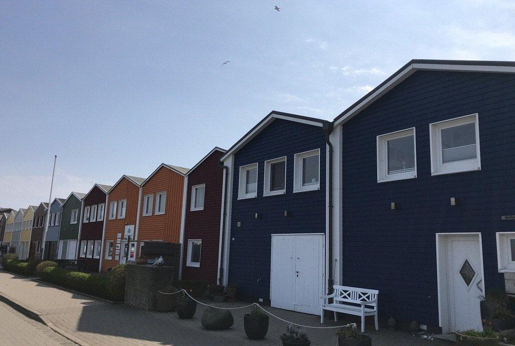 Bunte Häuser auf Helgoland - Teil 1