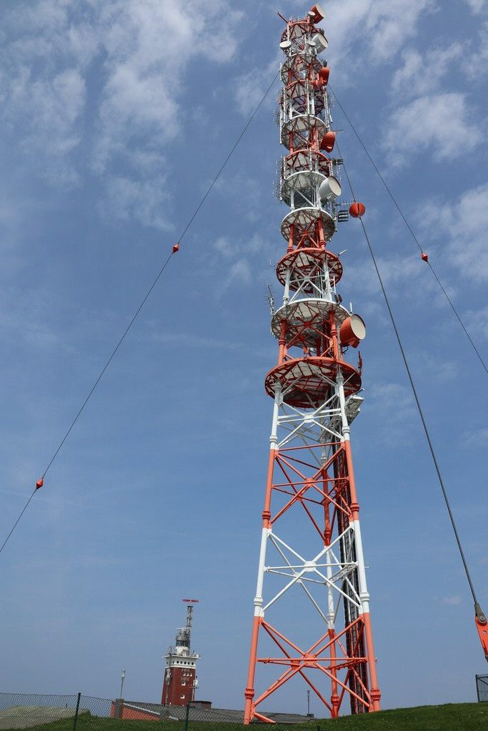 Funkturm auf Helgoland
